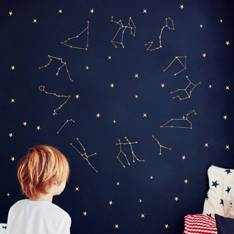 sticker constellations du zodiaque multi motifs
