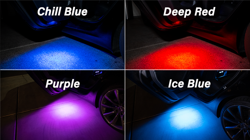 LED Door/Trunk Lighting Upgrade for Tesla Model S, 3, X, Y