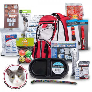 Cat Bug Out Bag/Survival Kit Emergency Backpack - The Survival Prep Store