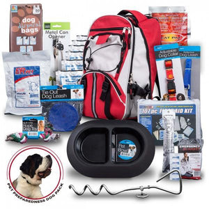 Emergency Dog Bug Out Bag/Survival Kit - The Survival Prep Store