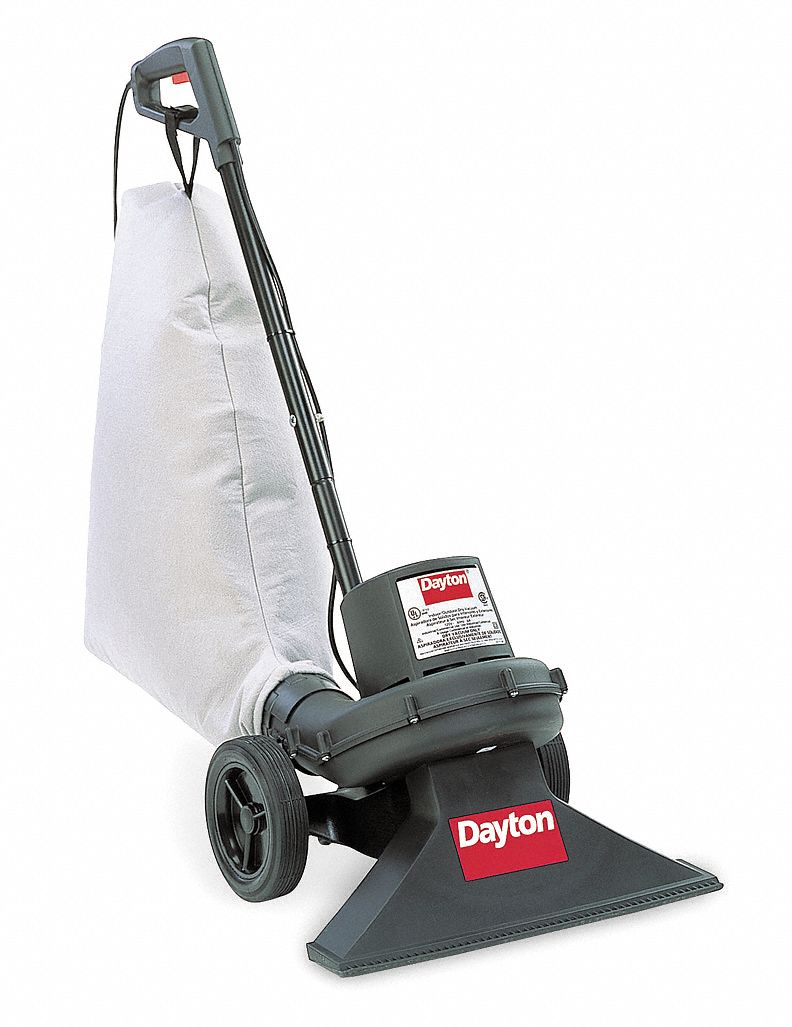Dayton Upright Vacuum, Reusable Bag, 19 in Cleaning Path Width, 200 cfm, 19.0 lb Weight - 6H003
