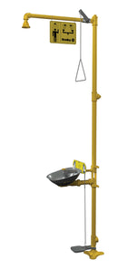 Bradley S19314LL Halo Safety Shower Eyewash Station, Foot Control