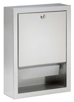 Bradley BX-Towel Dispenser, 2441-00, Multi Or C-Fold Towels
