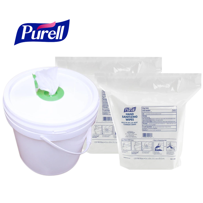 Purell Hand Sanitizing Wipes, 6