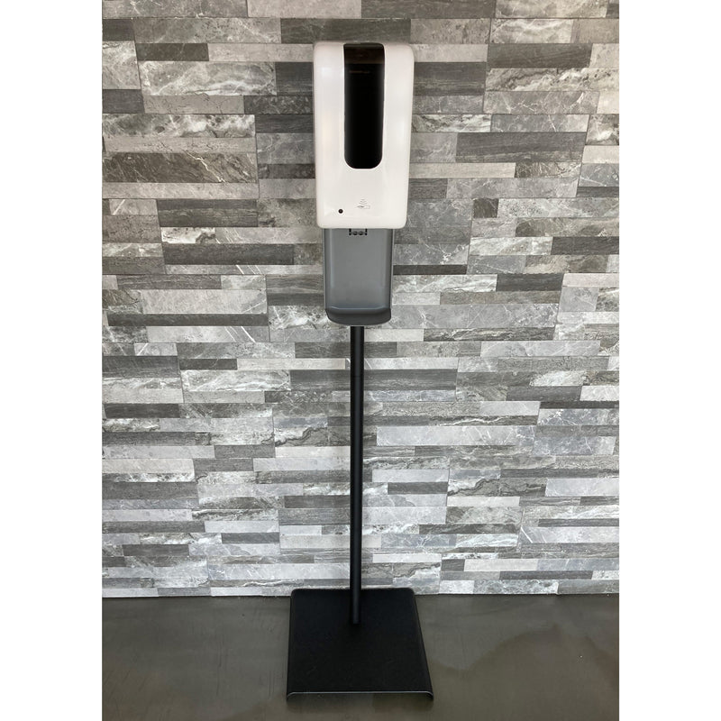 VISTA Hand Sanitizer Station w/ Stand & Automatic Dispenser, Includes (12) Purell 12.6 oz Pour Bottle Refills