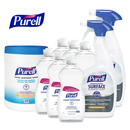 Purell Professional Power Pack w/ 32 oz Surface Disinfectant Spray Bottles, Sanitizing Hand Wipes and 12.6 oz Gel Hand Sanitizer Bottles