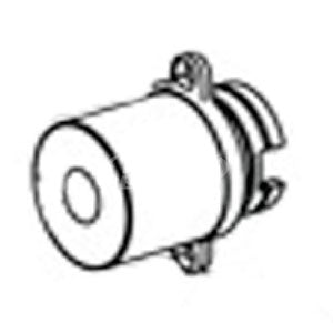 Bradley 107-519 Cap-Tmv-Shower (Mach./Etching)