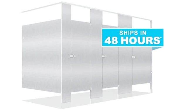 Toilet Partitions - ships in 48 hours