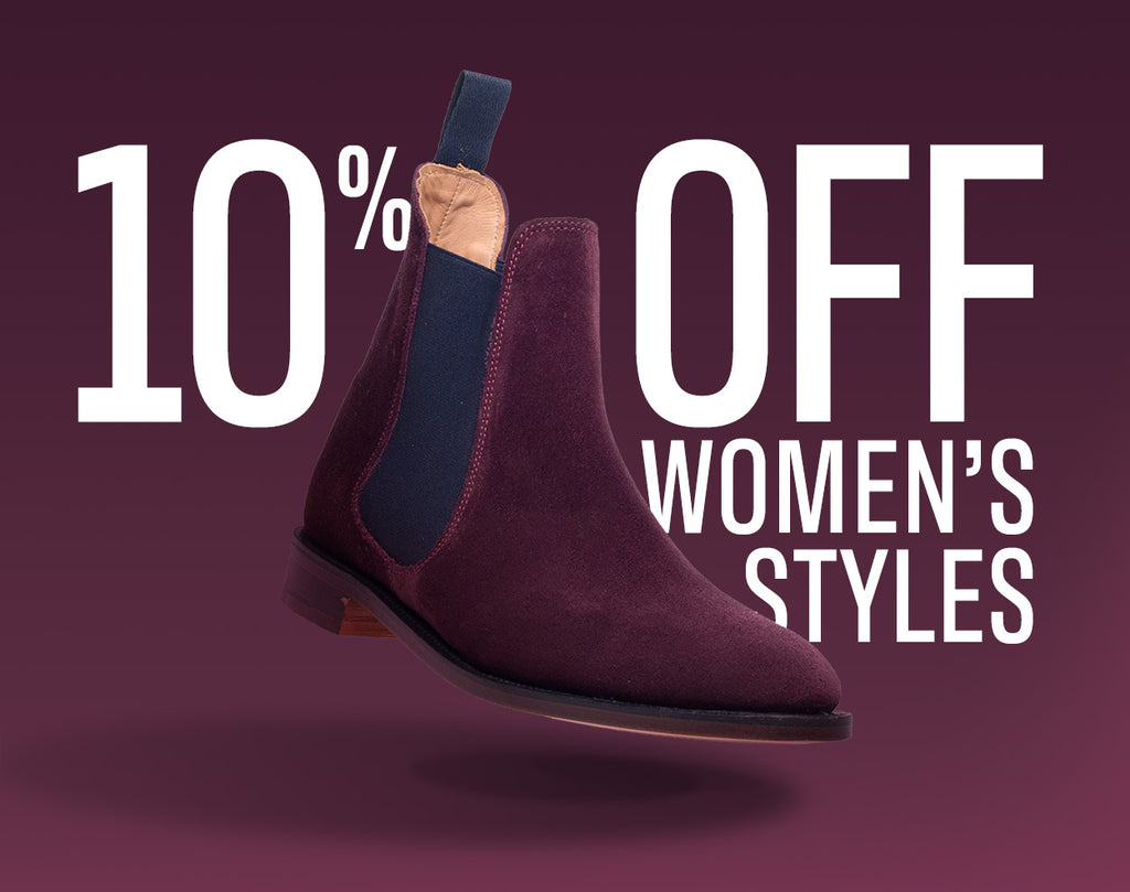 10% Off All Women's Styles