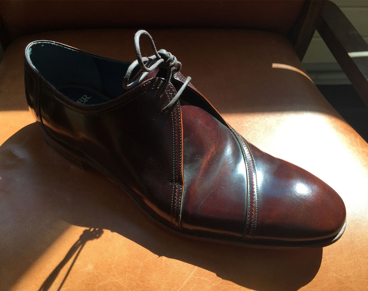 A visit to the Barker shoe factory outlet shop