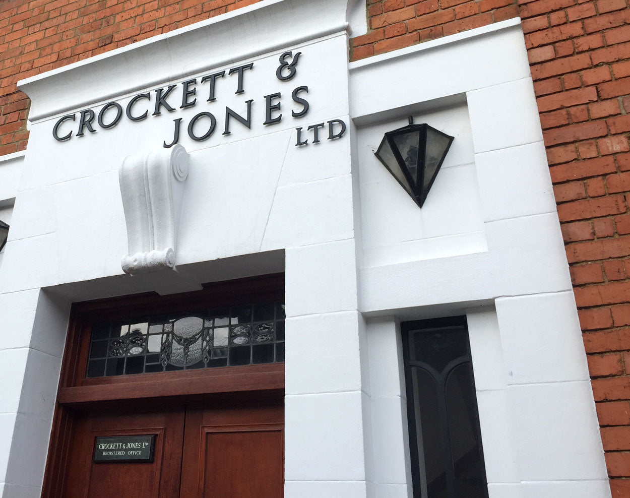 Visiting the Northampton shoe factories - Crockett & Jones