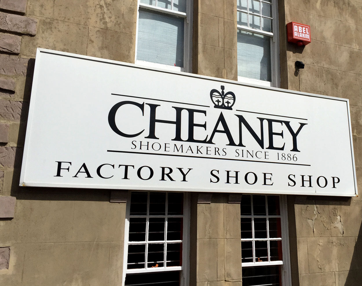 A visit to the Joseph Cheaney factory shop