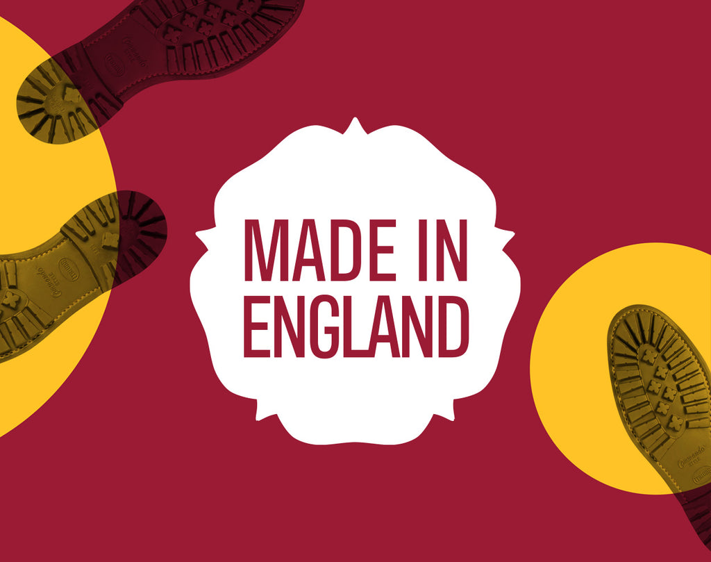 Made in England - 10% Off All Shoes and Boots