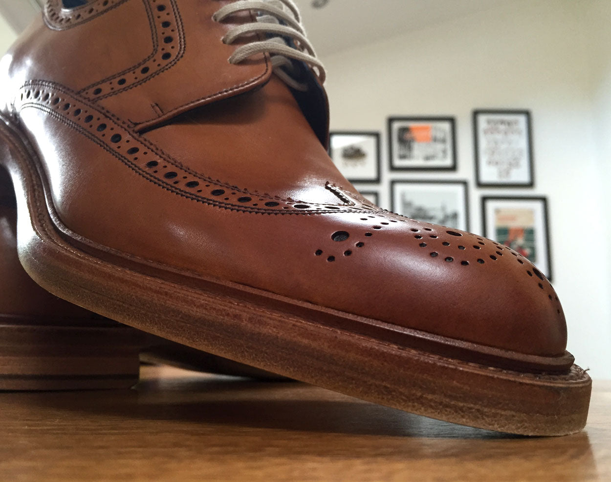 Searching for the perfect Northampton brogue