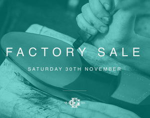 Edward Green Pre-Christmas Factory Shop Sale 2019