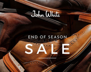 John White End of Season Sale - Over 50% Off