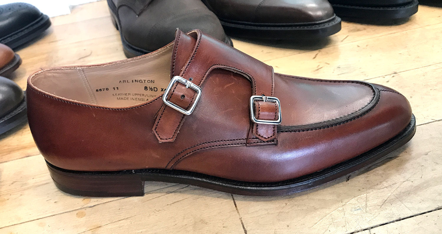 Crockett & Jones monkstrap shoe