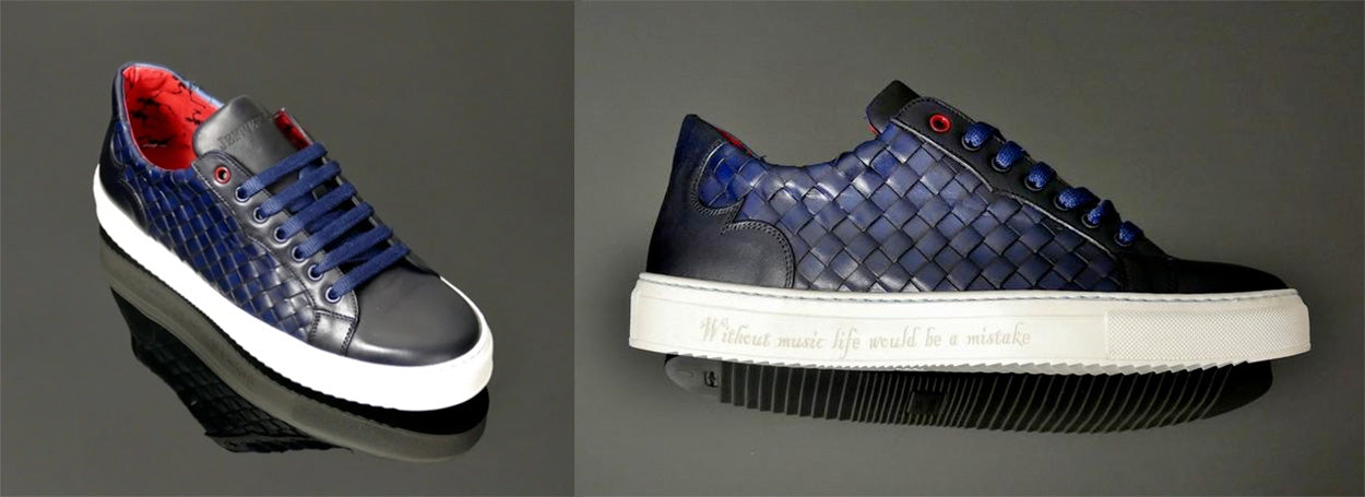 Jeffery West Weave Sneaker