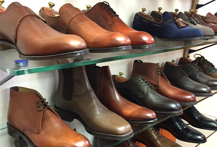 Joseph Cheaney factory shoes