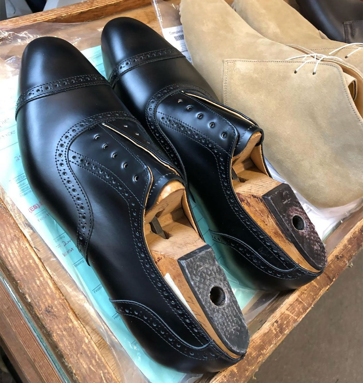 Newman and Regent Oxfords