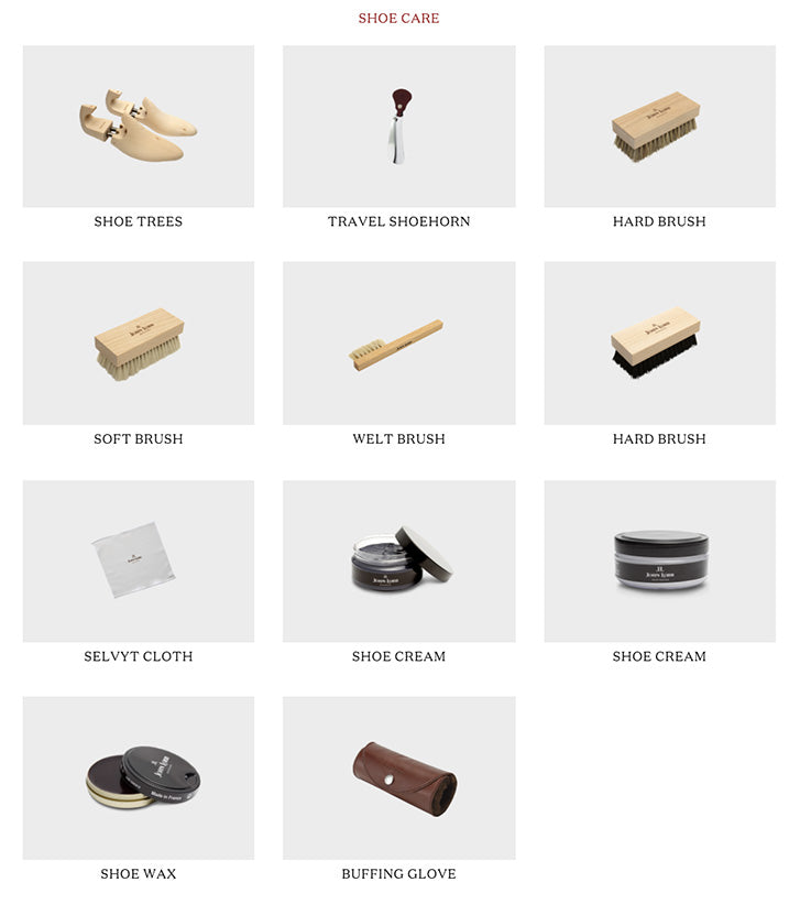 shoe care accessories