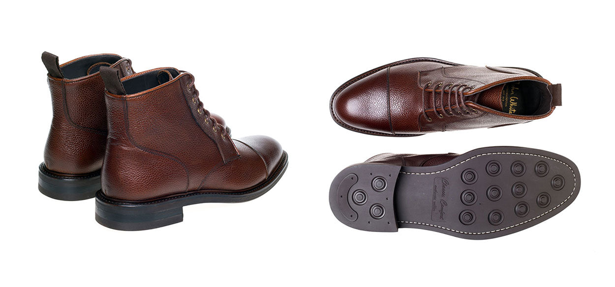 John White Tay Brown Boot