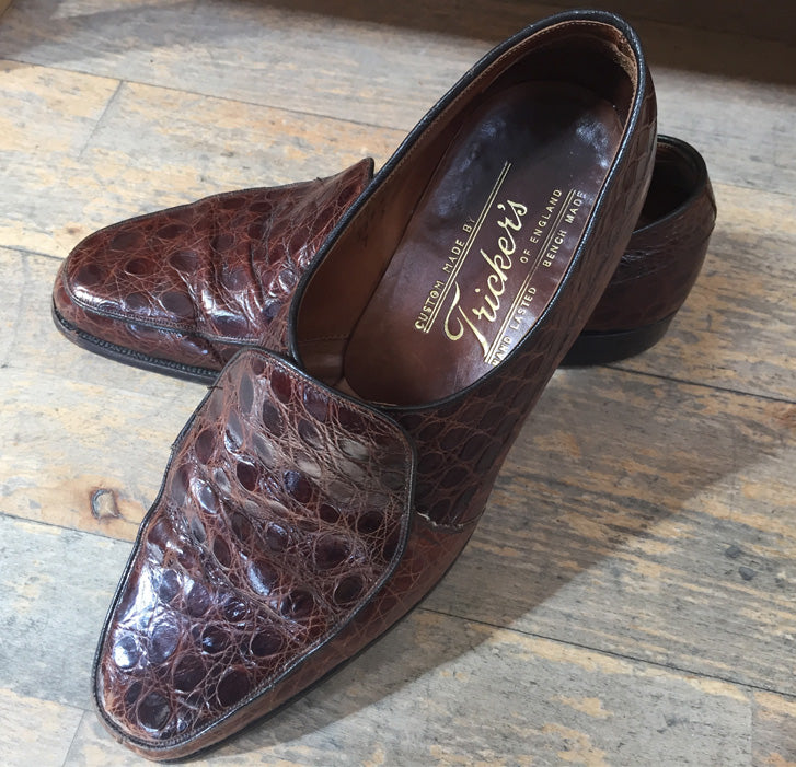 Tricker's vintage turtle loafers