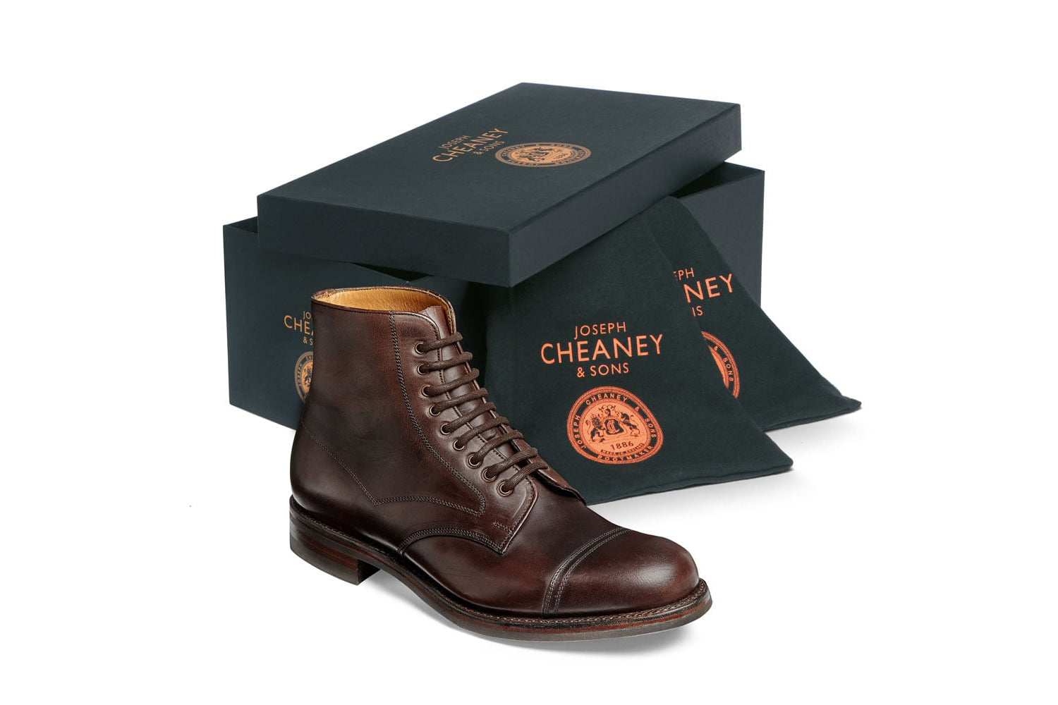 Cheaney jarrow derby boot