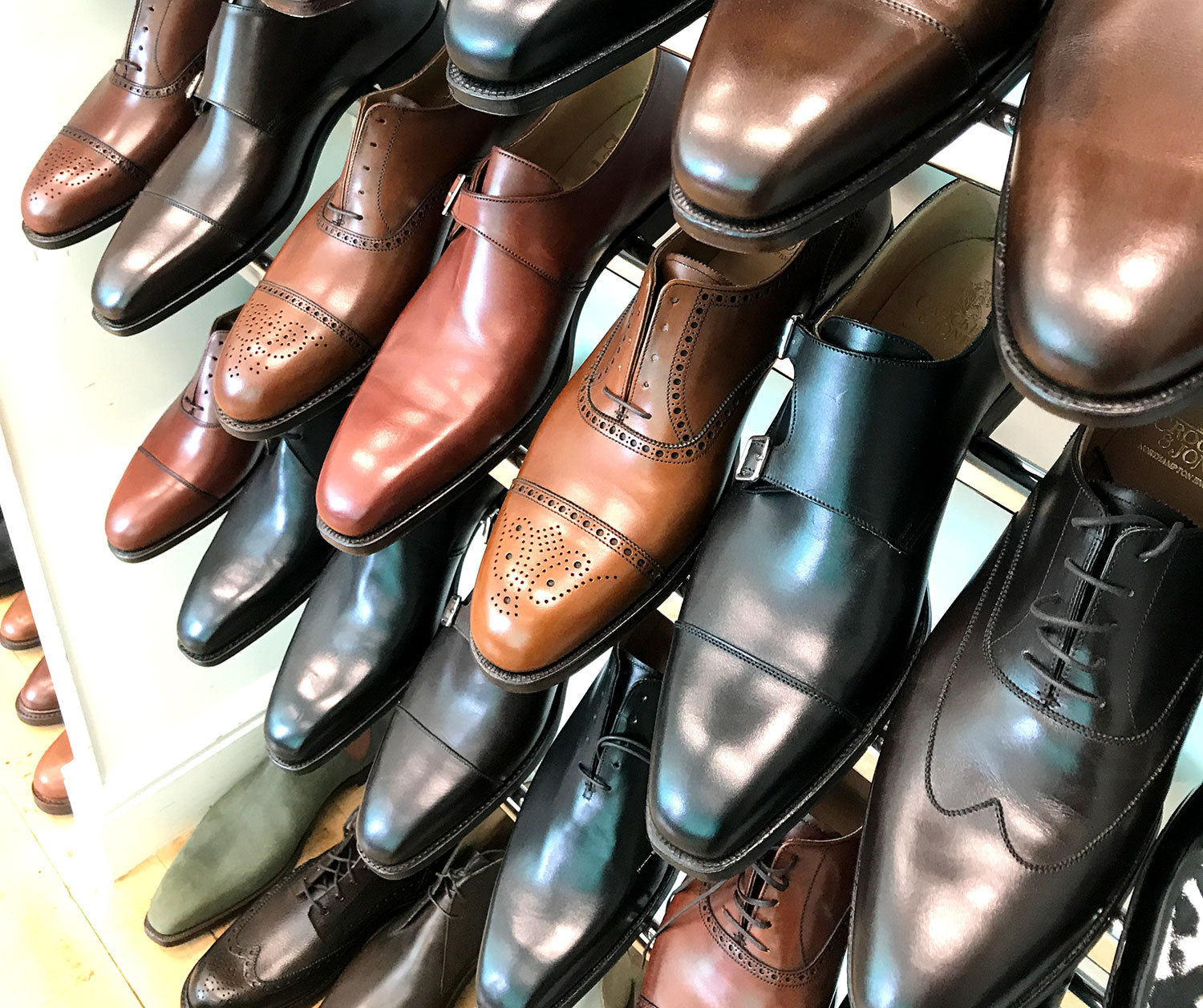 Crockett & Jones factory shop 2