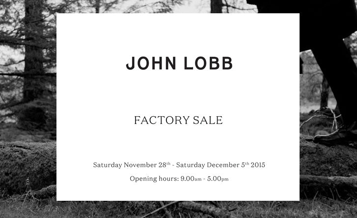 John Lobb factory shop sale