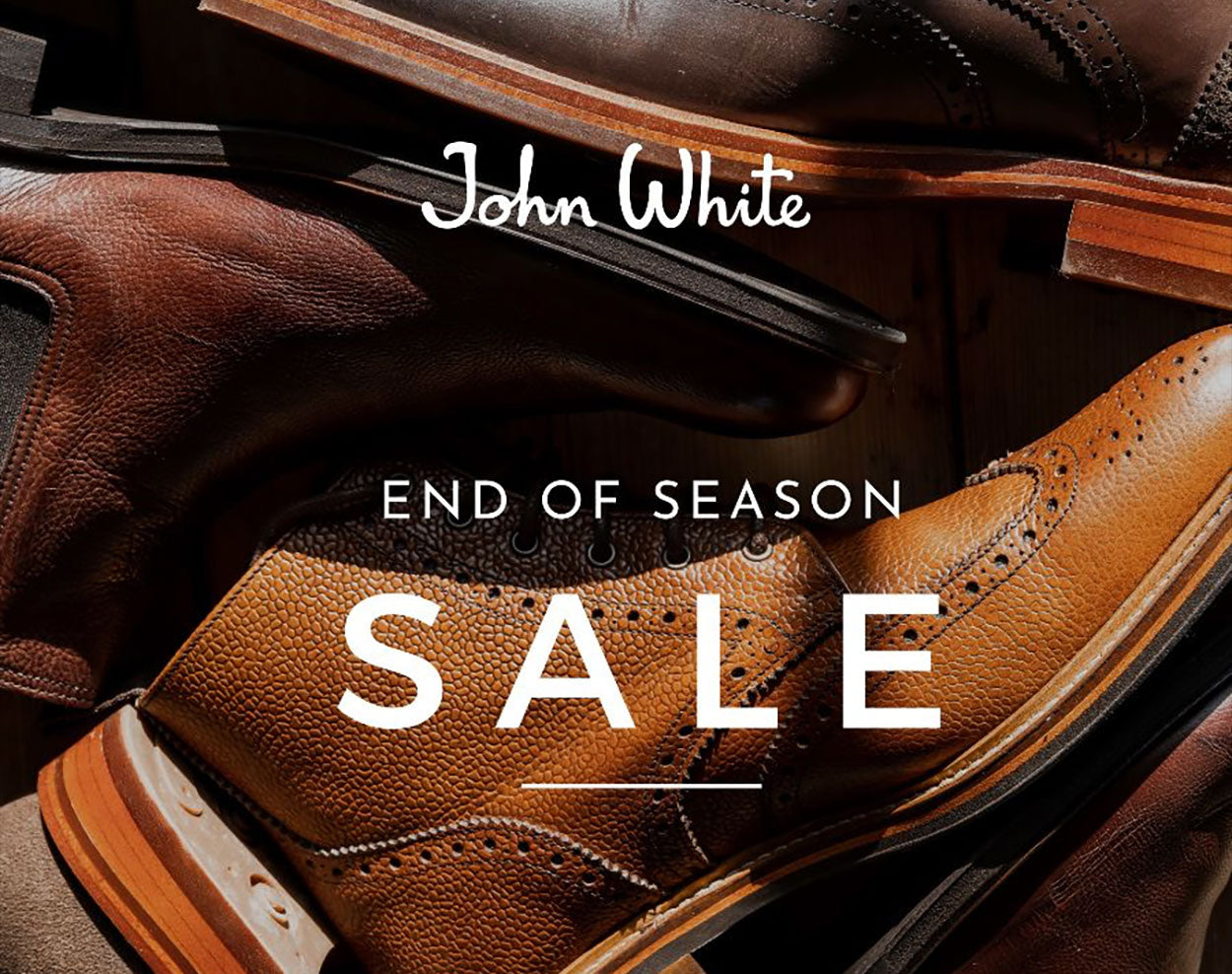 John White End of Season Sale