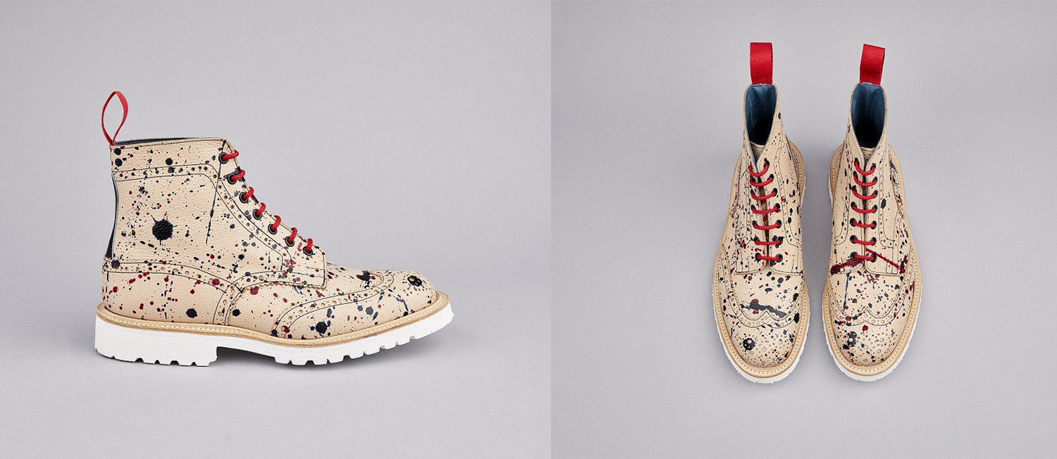 Tricker's limited edition splatter