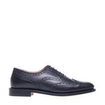 NPS Charlotte Oxford Brogue Shoe - Black Calf