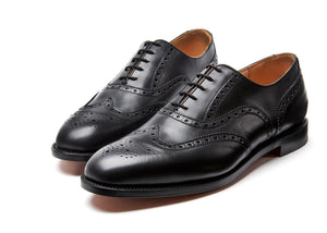NPS Churchill Oxford Brogue - Black