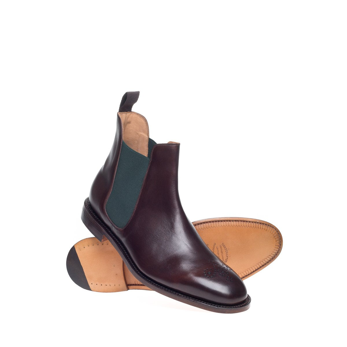NPS Stanley Chelsea Boot - Walnut Calf