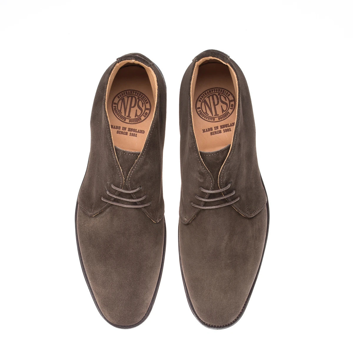 NPS Russell Chukka Boot - Chocolate Brown Suede