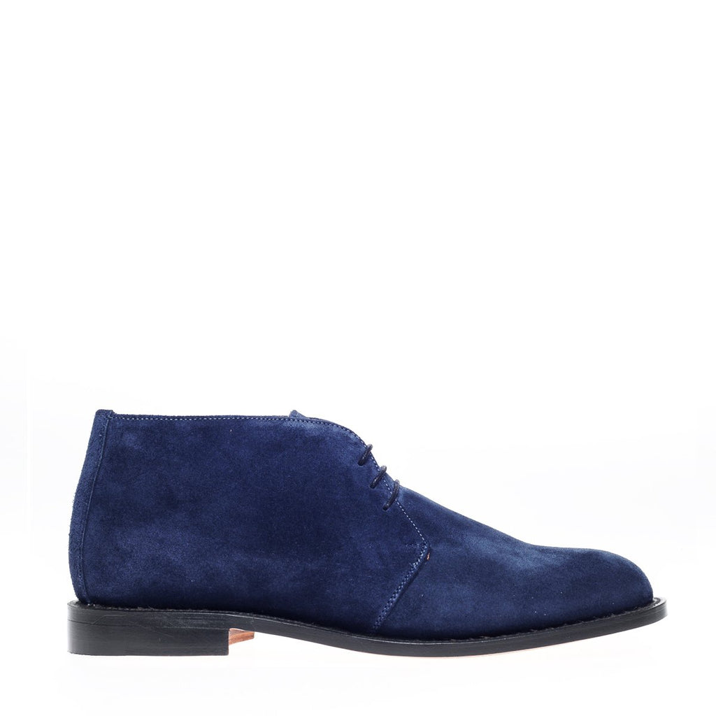 NPS Russell Chukka Boot - Navy Blue Suede