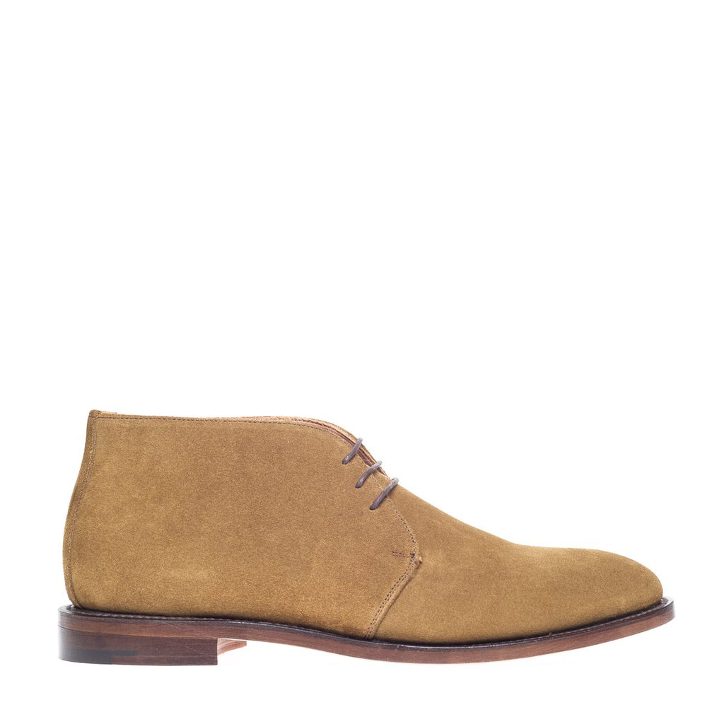 NPS Russell Chukka Boot - Tan Suede