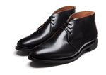 NPS Edward Chukka Boot - Black Hi-Shine