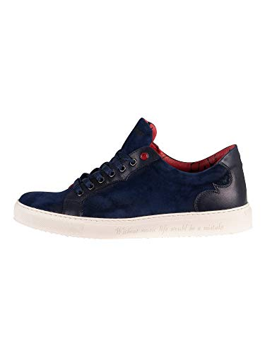 Jeffery West K252 Sneaker - Navy