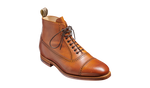 Barker Foley Toe-Cap Boot - Tan Soft Grain