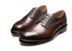 NPS Salisbury Gibson Semi-Brogue - Walnut Calf