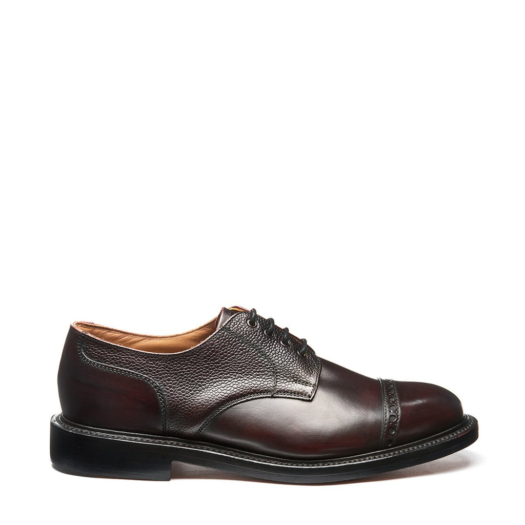 NPS Salisbury Gibson Semi-Brogue - Burgundy Calf