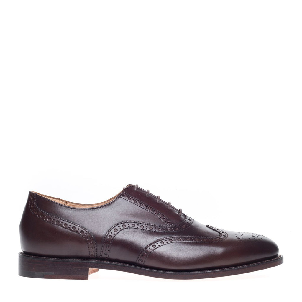 NPS Churchill Oxford Brogue - Walnut Brown