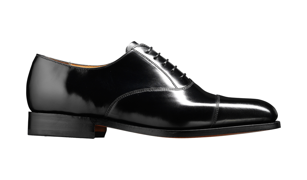 Barker Arnold Oxford - Black Hi-Shine