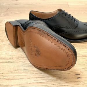 Cheaney Broad II Oxford Brogue - Black Calf