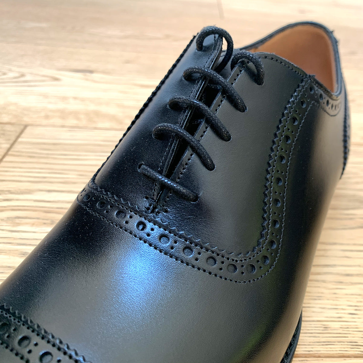 Cheaney Fenchurch Oxford - Black Calf