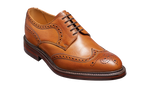 Barker Kelmarsh Brogue Derby - Cedar Grain