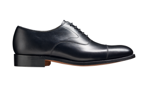 Barker Malvern Oxford - Black Calf