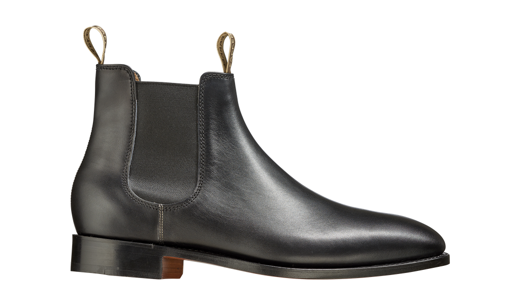 Barker Mansfield Chelsea Boots - Black Calf
